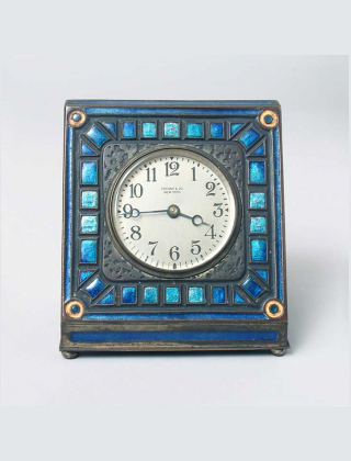 Tiffany Art Deco clock