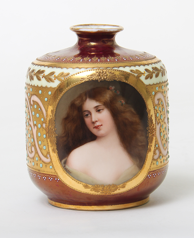 Other Makers, German portrait vase
