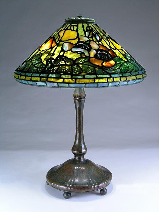 Chasenantiques Com Lamps Tiffany Studios 17 Quot Poppy Lamp