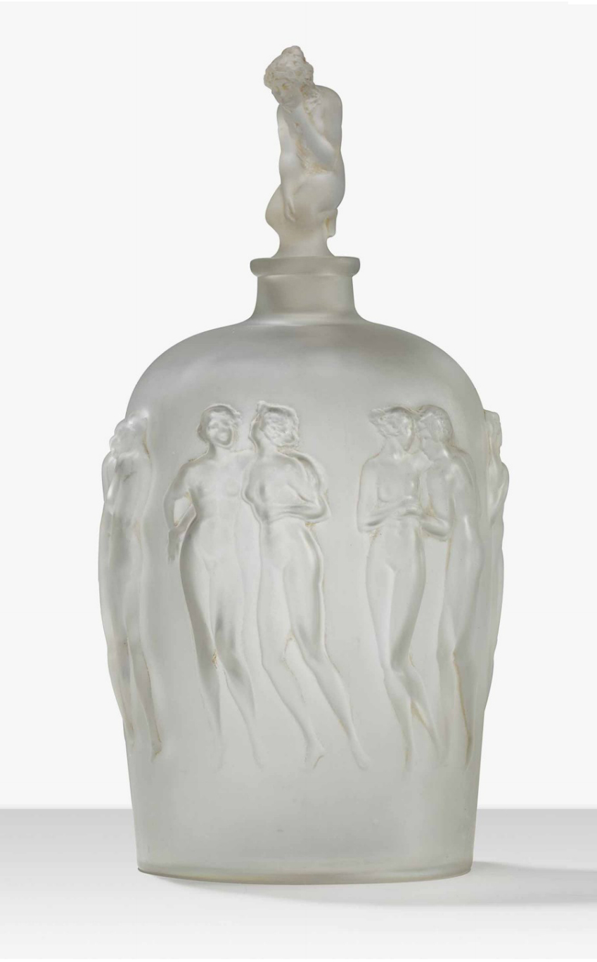 R. Lalique, <i>Douze Figurines</i> bottle