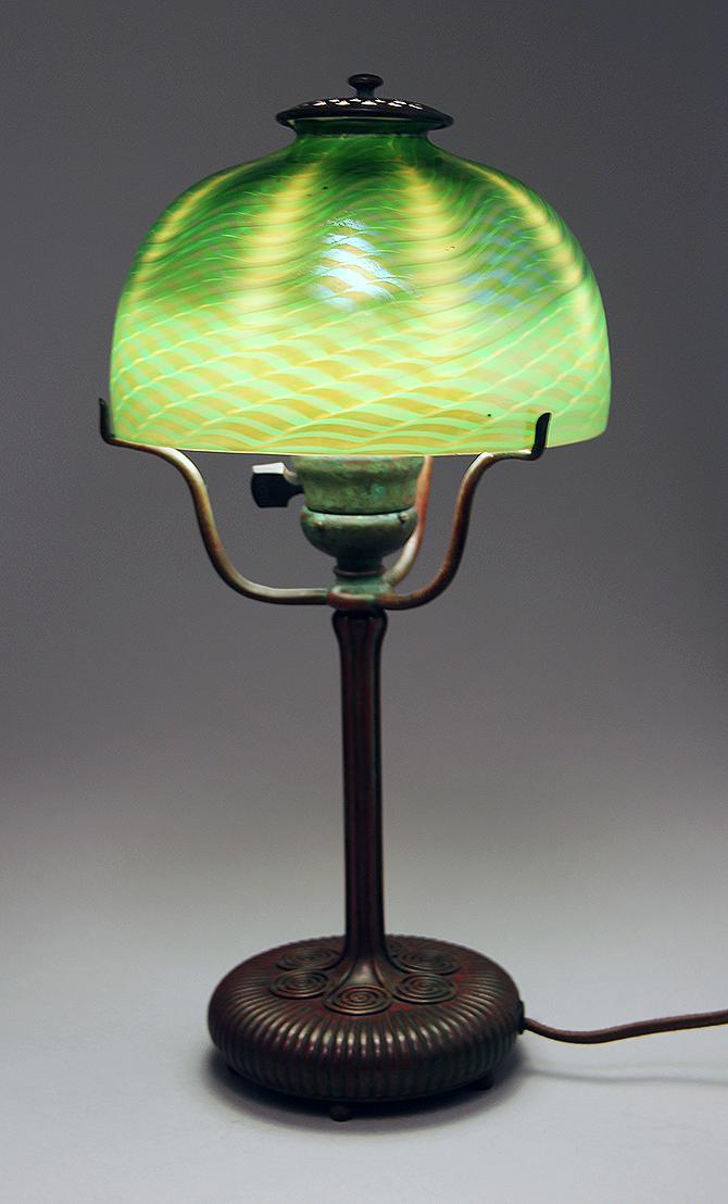 Chasenantiques Com Lamps Tiffany Studios 7 Quot Favrile Lamp
