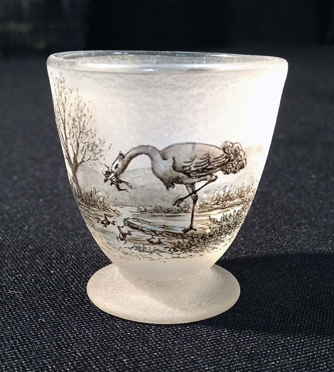 Aesop's Fable Miniature Vase Egg Cup