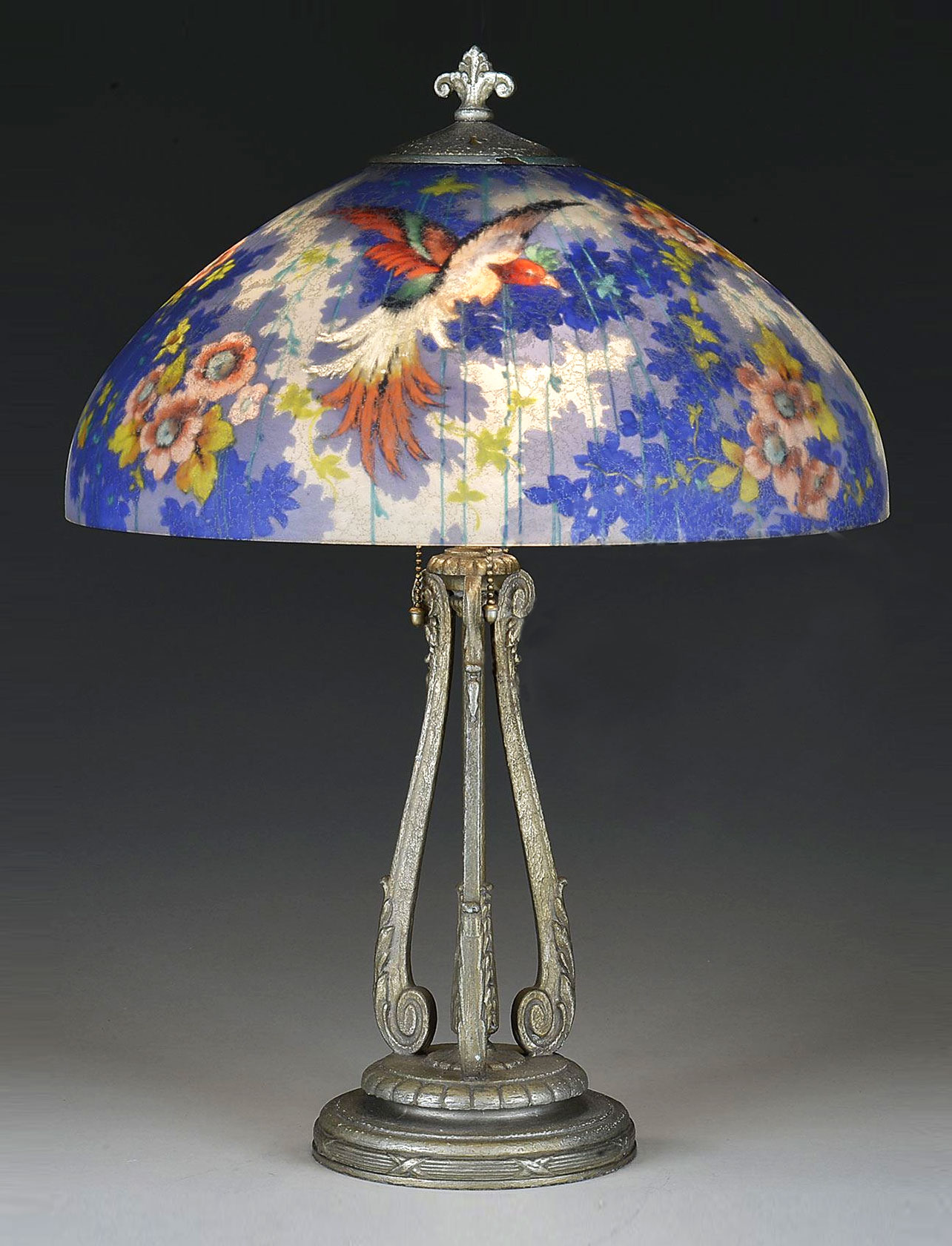 Blue Bird Lamp