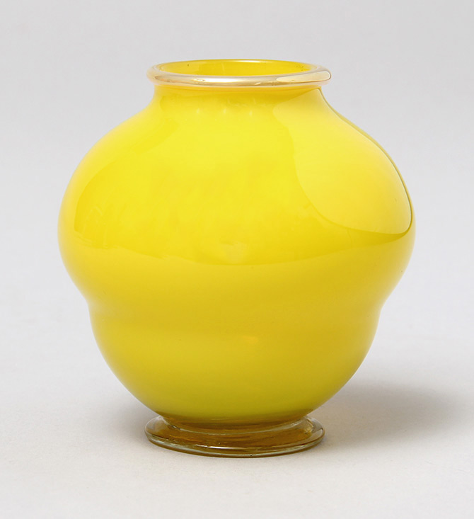 Tiffany Favrile, Yellow Vase