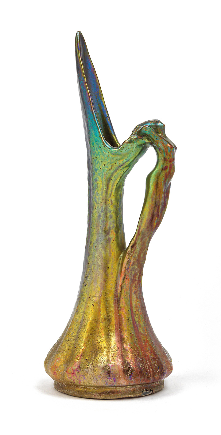 Jerome Massier, Figural pitcher