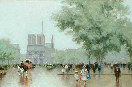 Andre Gisson, Notre Dame