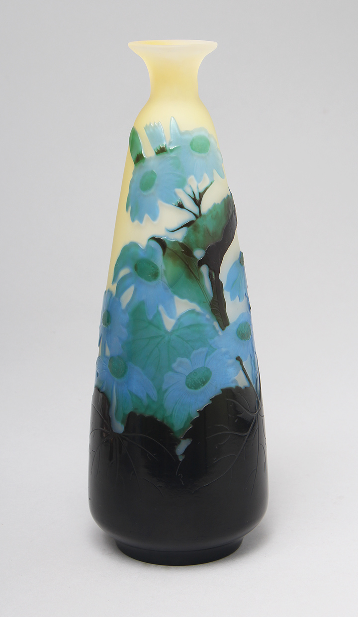 Painted Daisy Vase