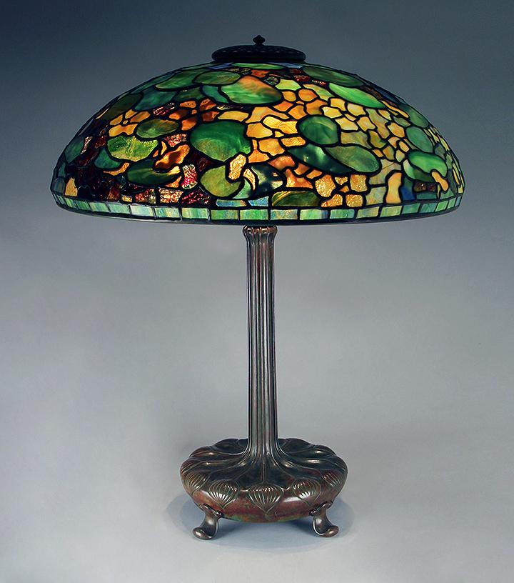 lamps tiffany studios. Black Bedroom Furniture Sets. Home Design Ideas