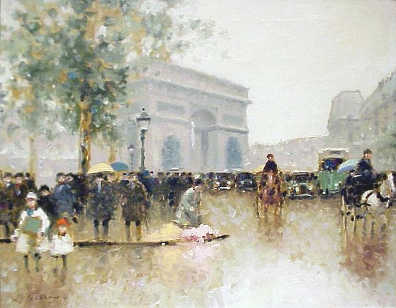 Paris Flower Seller