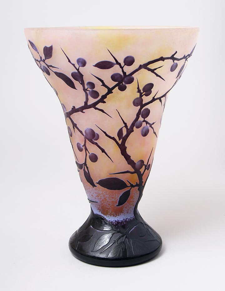 Berries And Thorns Vase