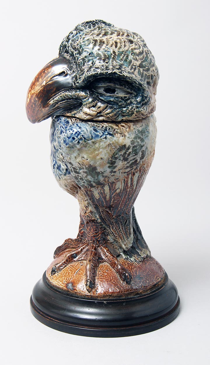 Bird Tobacco Jar
