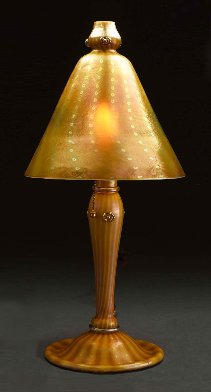Tiffany Favrile, Arabian lamp