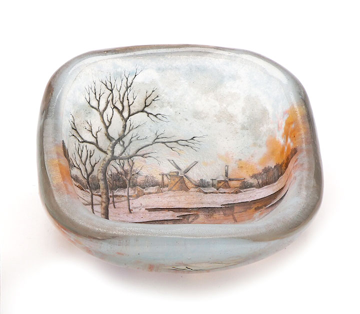 Dutch Winter Ashtray