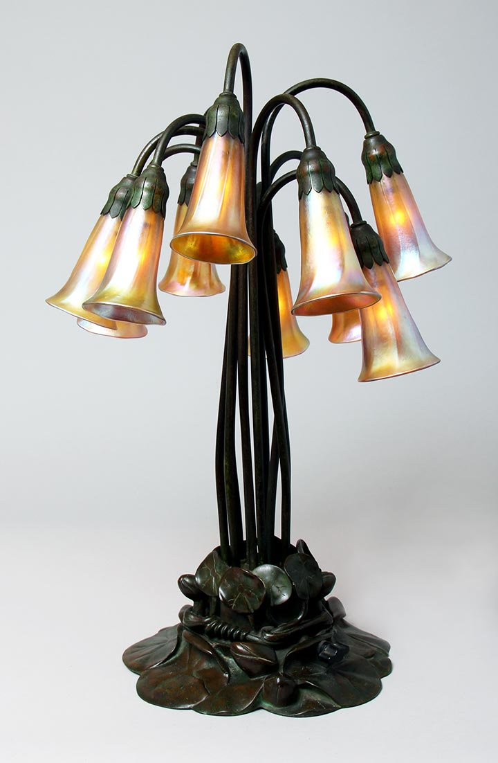 Tiffany Studios, 10-light lily