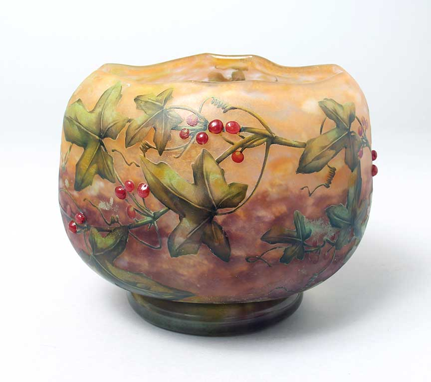 Applied Berry Vase