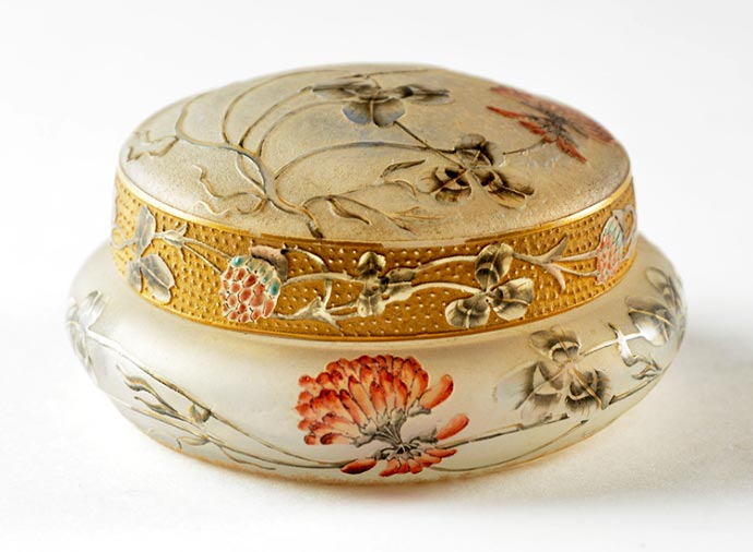 Gilded Floral Box