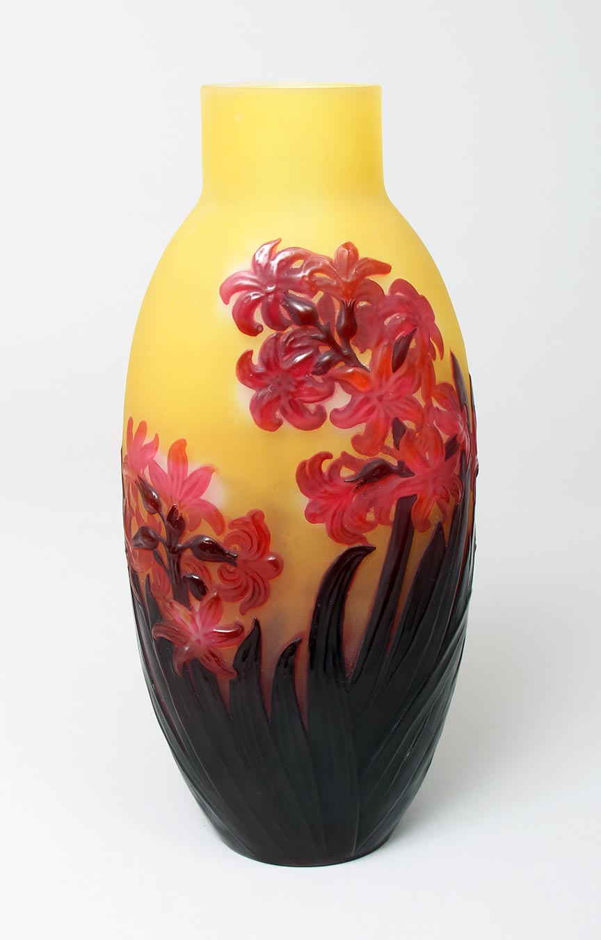 Gallé (Galle), Blownout hyacinth vase