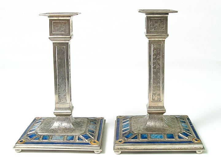 Art Deco, Art Deco candlesticks
