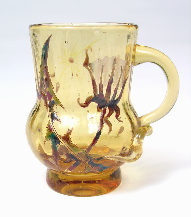 Miniature Enameled Pitcher