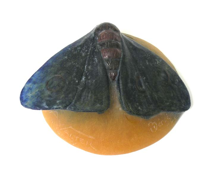 Walter Pate-De-Verre Butterfly Paperweight