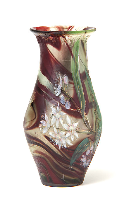 Burgun & Schverer, Internally decorated vase